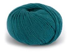 Dale Garn Pure Eco Baby Wool Økologisk Ull 50 g Petrol 1321