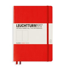 LT NOTEBOOK A5 Hard red 249 p. plain