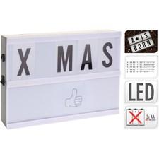Lightbox LED, 20x15cm.