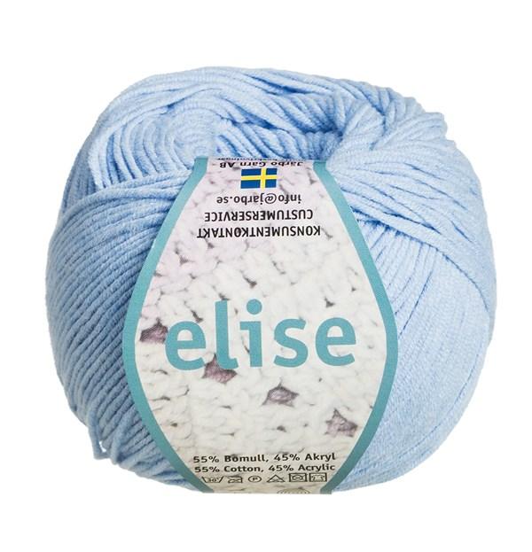 Elise Garn Bomullsmix 50g Ljusblå (69215)
