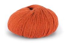 Du store Alpakka Mini Sterk Garn Ullmix 50 g Oransje 836