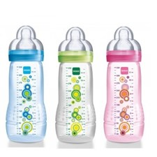 Nappflaska Baby Bottle 330ml, MAM - Grön