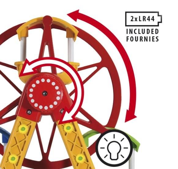 Maailmanpyörä, huvipuisto, BRIO puurautatie, Brio  puulelut  Adlibris verkk