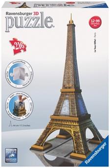 Eiffeltornet 3D Pussel, 216 Bitar, Ravensburger