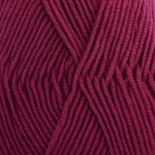 Drops, Merino Extra Fine Uni Colour, Garn, Ullgarn, 50 g, Mørk lyng 35