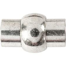 Magneettilukko, koko 13x21 mm, aukon koko 6 mm, 1 kpl, antiikkihopean väris