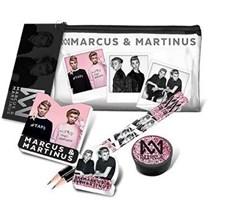 Täytetty läpinäkyvä penaali, Marcus & Martinus
