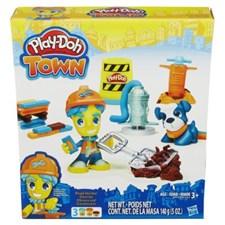 Town Figure & Pet, Roadworker, Play-Doh
