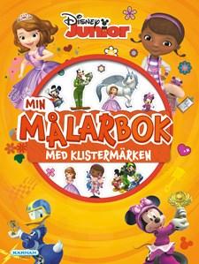 Disney Junior målarbok med klistermärken