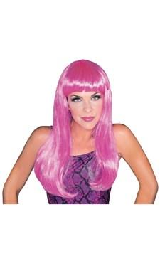 Peruk Glamour, Hot Pink, Rubies