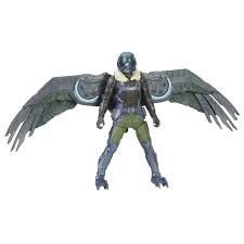 Web City Feature Figure 15 cm, Vulture moving wings, Spiderman