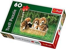 Valpar Beagle, Pussel 60 bitar, Trefl