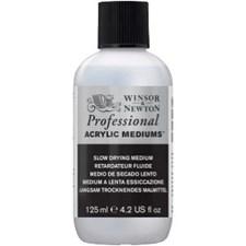Professional Akryyliväliaine Slow Drying Medium Winsor & Newton 125 ml
