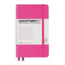 LT NOTEBOOK A6 Hard new pink 185 p. ruled