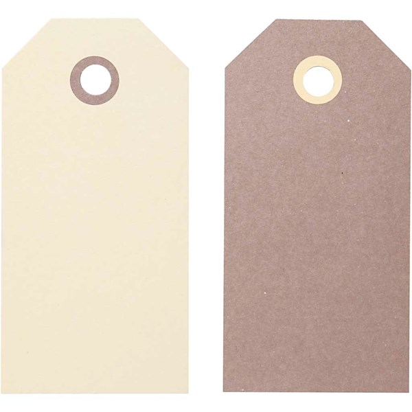 Pakettietiketit, koko 10x5 cm,  250 g, 20laj.