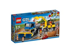 Feiebil og gravemaskin, LEGO City Great Vehicles (60152)