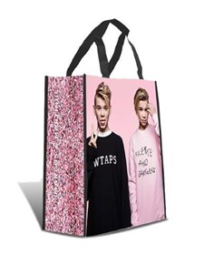 Shoppingbag, Rosa, Marcus & Martinus