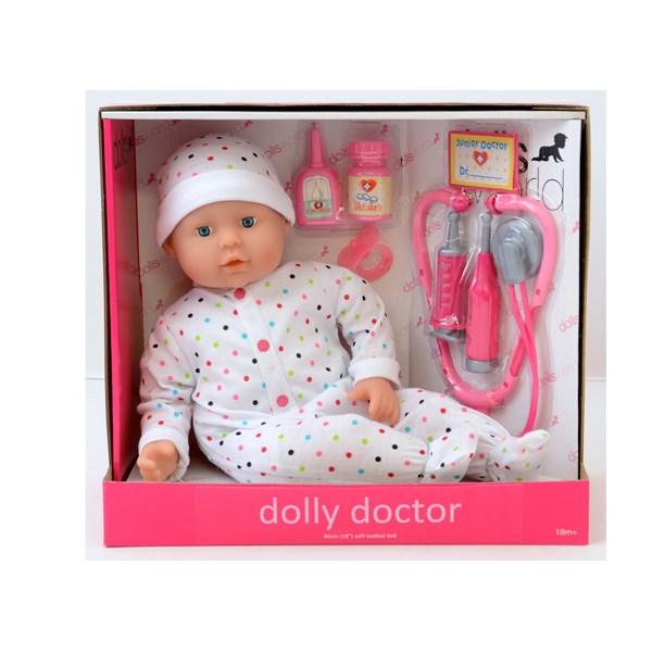 Docka Med Doktorset 46 cm  Dolly Doctor  Summertime - dockor & tillbehör