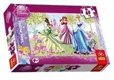 "Disney Princess ""Stroll in the garden""- Pussel, 60 bitar, Trefl"