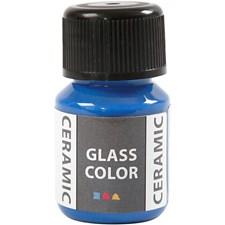 Glass Ceramic, 35 ml, brilliant blå