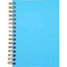 Notatbok Burde A5 Blå