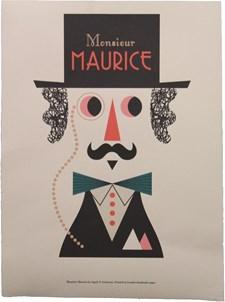 Mr Maurice Print A3