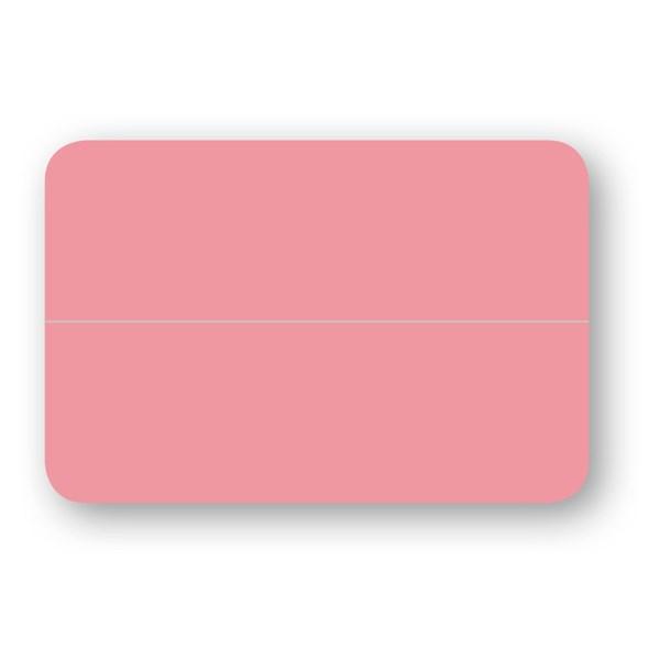 Placeringskort Dubbla Papperix Rosa 10-pack