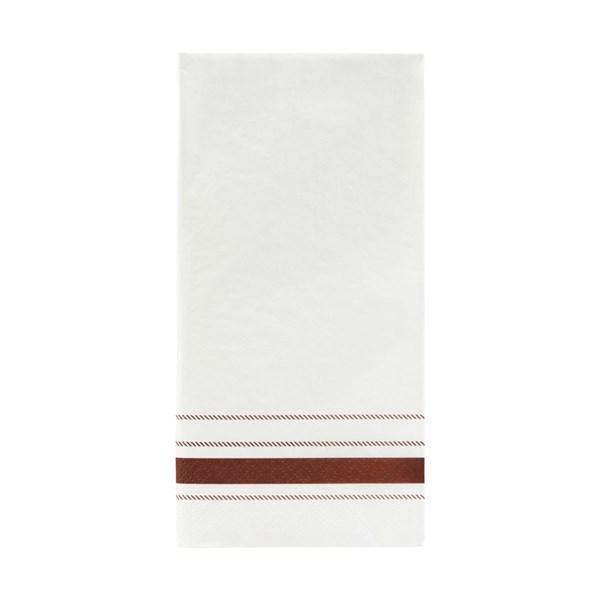 Nicolas Vahé Servett Stripe 20x10 cm 12-pack Brun (brun)