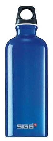 Drikkeflaske, Traveller, 0,6 L, Blå, SIGG