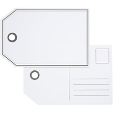 Pakettietiketit, koko 15x10 cm, 300 g, 10 kpl