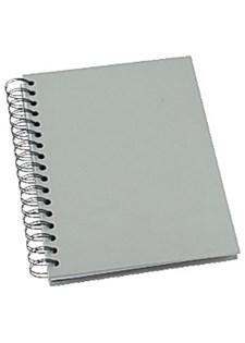 Notatbok GRIEG Design A5 100g linjer. grå
