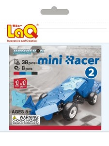 Hamacron Mini Racer 2, sininen, LaQ