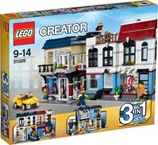 Cykelbutik och kafé, Lego Creator (31026)