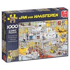 Jan van Haasteren, Chokladfabrik, Pussel 1000 bitar