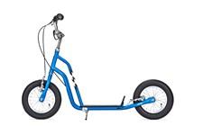 Yedoo Wzoom sininen potkupyörä ilmarenkailla