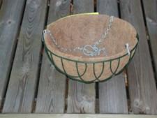 Cocosinsats 35 cm Rund