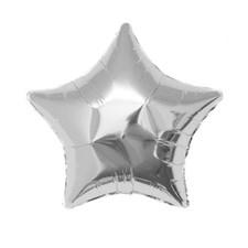 """Ballong, Rico, """"Stjärna"""", Silver, 36 cm."""