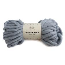 Adlibris Chunky Wool Garn Dusty Blue 200g A006