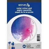 Ritblock Akvarellfärg Reeves A5