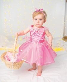 Deluxe kostyme, Tornerose, 12-18 måneder, Disney Princess