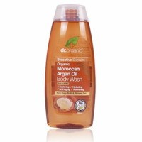 Dr Organic Moroccan Argan Oil Body Wash, 250 ml