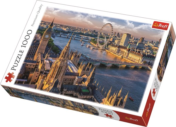 London, Pussel 1000 bitar, Trefl