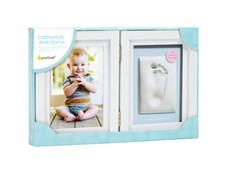 Babyprints Ram Dubbel Ledad, Vit, Pearhead