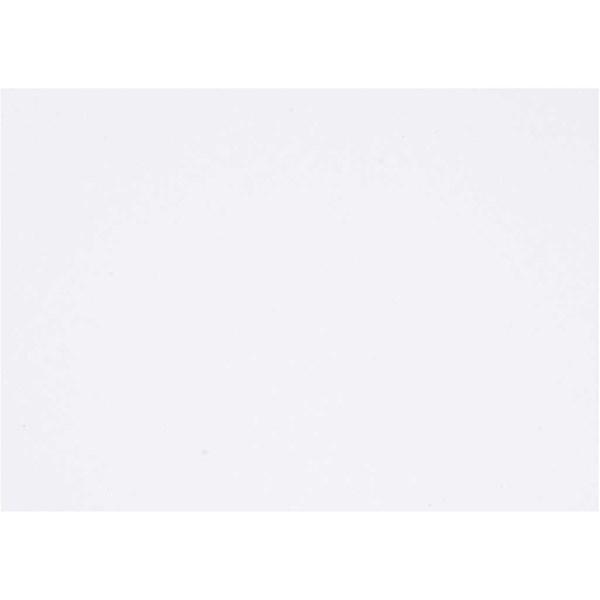 Kartonki, A6 105x148 mm, 180 g, 100 ark, valkoinen