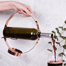 Vinflaskhållare