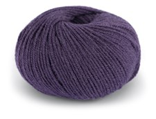 Dale Garn Pure Eco Wool Ekologisk Ull Alpacka 50 g Amestyst Lila 1219