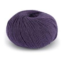 Dale Garn Pure Eco Wool Økologisk Ull Alpakka 50 g Amestyst Lilla 1219