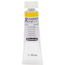 Schmincke AKADEMIE® Akrylmaling, 60 ml, primary yellow (224)