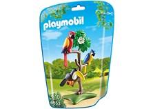 Papukaijat ja tukaani puussa, Playmobil City Life