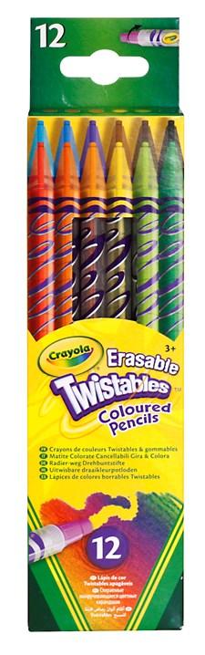 Ritpenna Skruvpenna Raderbar Crayola 12-pack